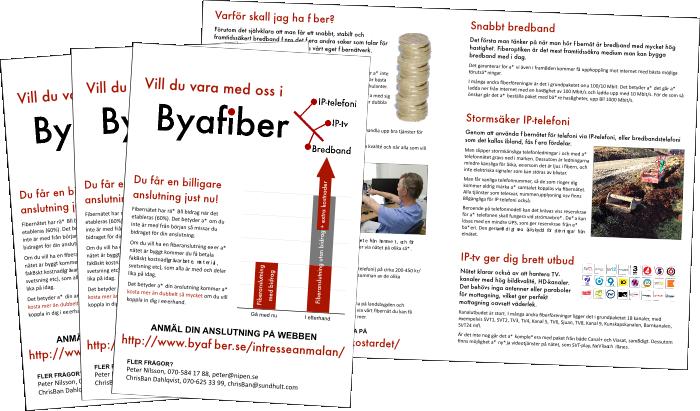 Bild på broschyr