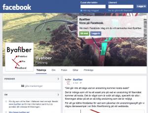 Byafiber på Facebook