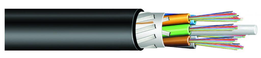 Fiberkabel med tuber och dragkärna - CC by sa nc CommScope