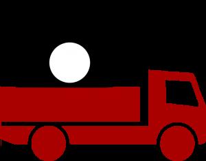 Lastbil med telefonpaket