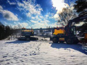 Miljöschakt gräver vid Norrskog