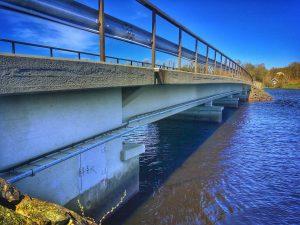 Bron över Ätran vid Gällared