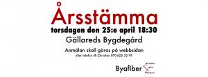 Byafiber - Årsstämma april 2019